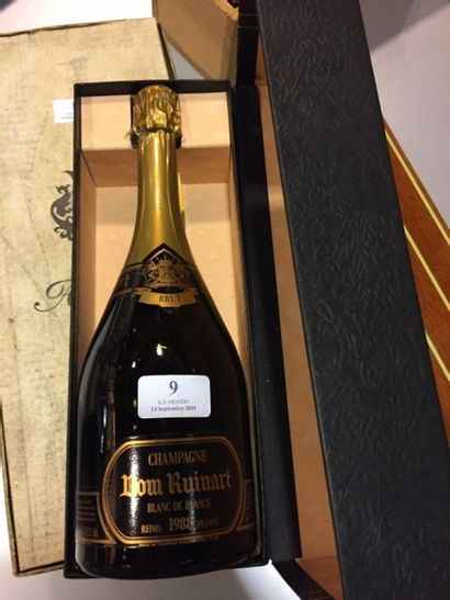 1 bouteille Champagne Dom Ruinart, 1988....