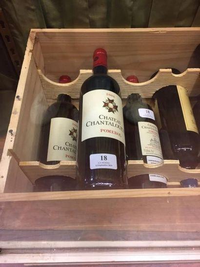 4 bouteilles Château Chantalouette - Pomerol, 2006.