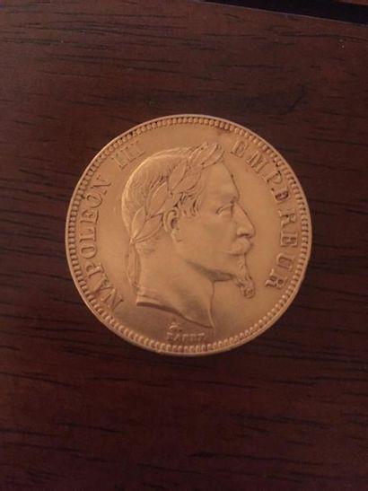 FRANCE : 1 x 100 francs or Napoléon tête...