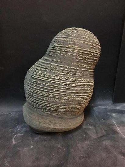 BOJI, NODULE DE PYRITE. Chine. H. : 17 cm....