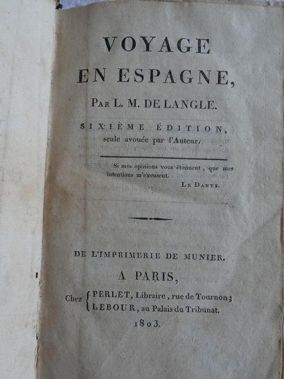 LANGLE (Marquis de).