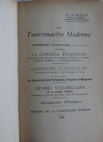 PLUMETA (Léonce André).