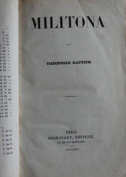 GAUTIER (Théophile).