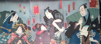 UTAGAWA Kunisada, dit Toyokuni III (1786-1865)....