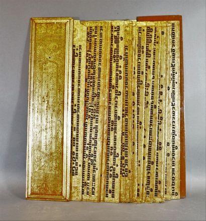 Kammavaca, livre de prières constitué de...