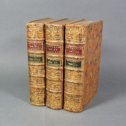 Catalogue des livres de la bibliothèque de...