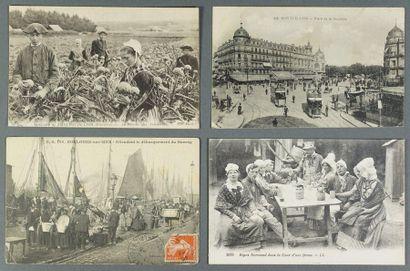 Lot de cartes postales –