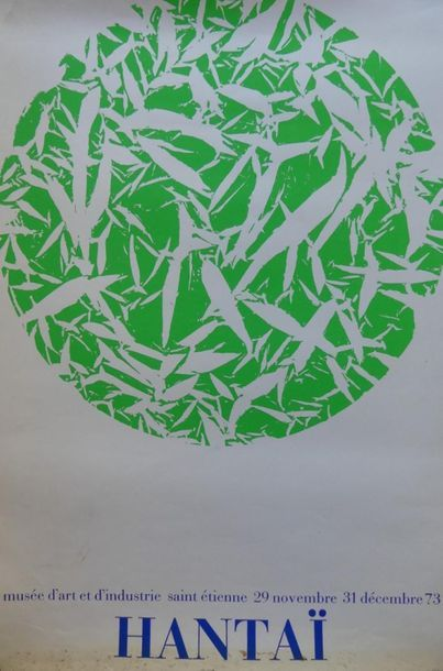 DIVERS (5 Affiches) APPEL-HANTAÏ (1973) - JENKINS (1965) - LAPICQUE (1970) - POLIAKOFF...