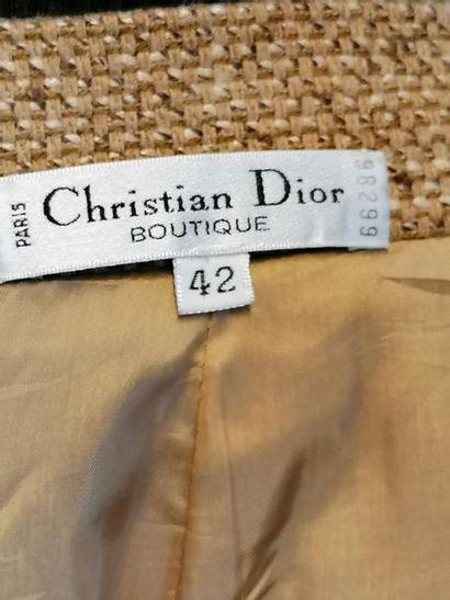 CHRISTIAN DIOR Jupe Christian DIOR Boutique en laine, taille 36/38, excellent ét...