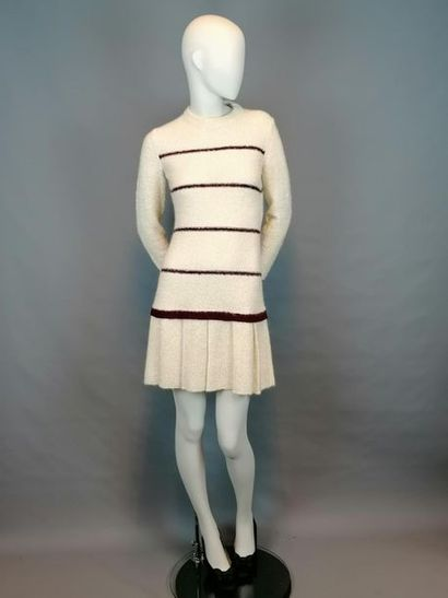 de la maison Filbotex Magliera di Lusso Robe en laine des années 70 de la maison...