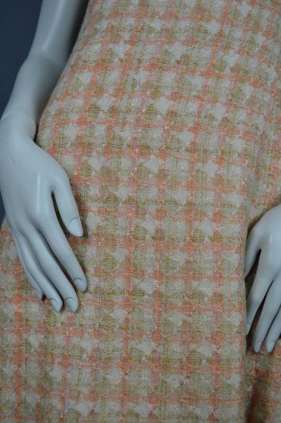 MODE VINTAGE robe en laine, travail de couturière des années 60, taille 38, très...