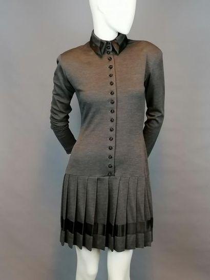 CHANTAL THOMASS Robe Chantal THOMASS en polyester et laine, des années 2000, taille...
