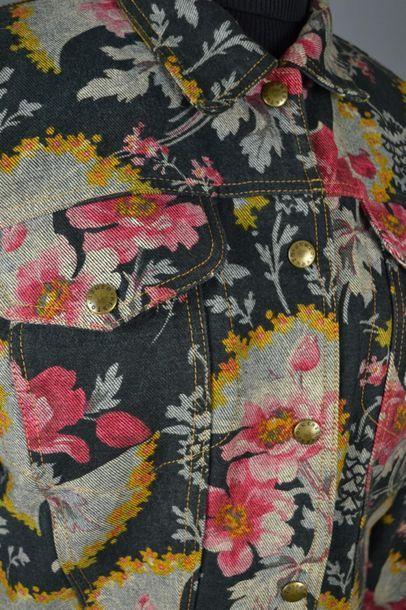 KENZO Blouson jeans KENZO doublure matelassée, en excellent état, en coton, des années...