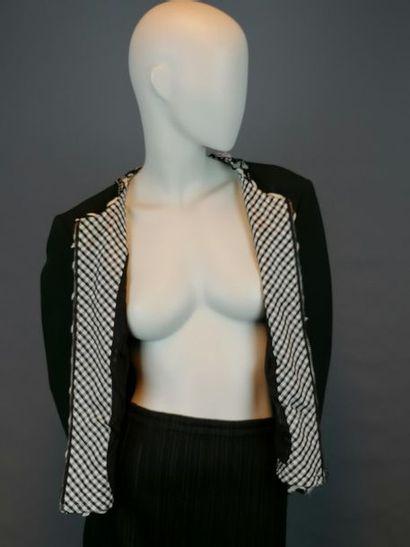 MOSCHINO Veste MOSCHINO en soie et coton, taille 38/40, des années 90, parfait é...