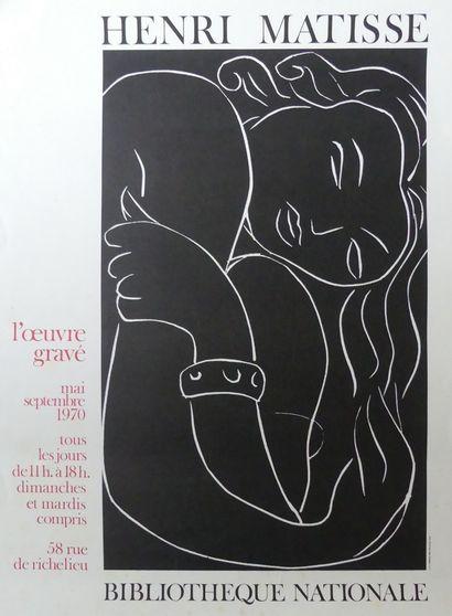 BRASILIER - HENRI MATISSE (1970) - MAX ERNST (1970 / et 1971)- ANDRÉ LHOTE (1961)- BRAM VAN VELDE (1964) – RIOPELLE