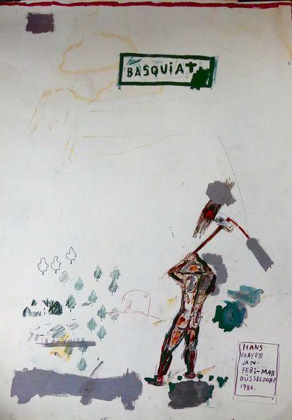 BASQUIAT JEAN-MICHEL (1960-1988)