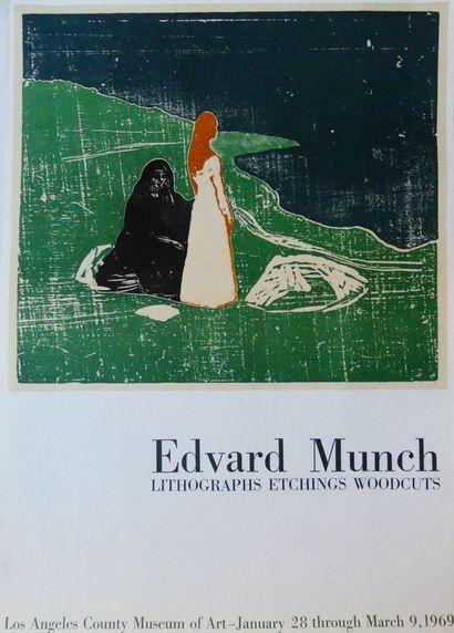 MUNCH Edvard (d'après) (2 affiches)