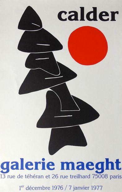 CALDER Alexander (1898-1976) (2 affiches)