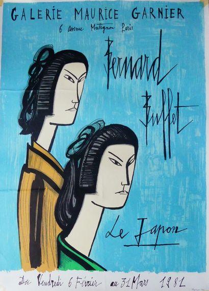 BUFFET Bernard (1928-1999) (3 affiches)