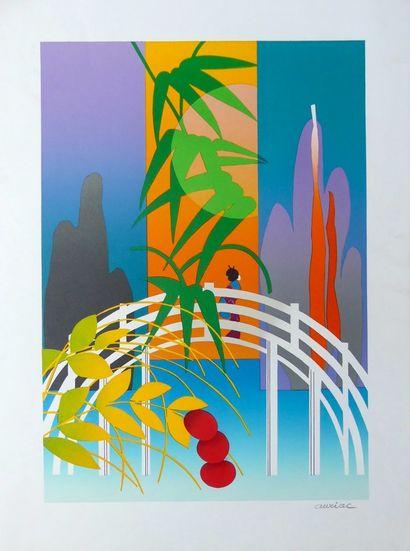 AURIAC Jacques (1922-2003) (3 lithographies et 1 affichette)