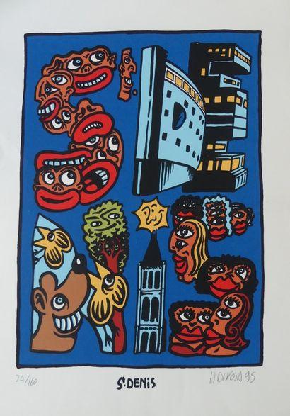 DI ROSA Hervé (né en 1959) (2 affiches)