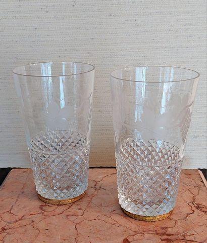 Lot de verres dépareillés