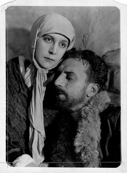 Michel Strogoff Ivan Mosjoukine et Nathalie Kovanko, film de Victor Tourjansky, d'après...