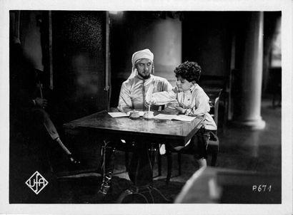 LE DIABLE BLANC - DER WEISSE TEUFEL Ivan Mosjoukine et Betty Amann, film d'Alexandre...