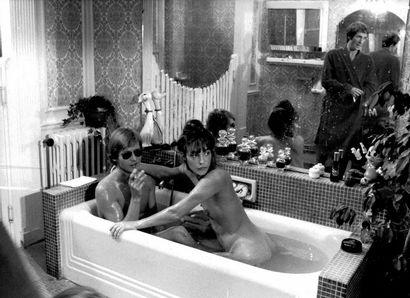 SÉRIEUX COMME LE PLAISIR Jane Birkin, film de Robert Benayoum, 1975. Photographies...
