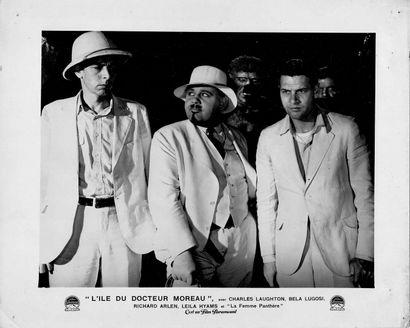 L'ÎLE DU DOCTEUR MOREAU - ISLAND OF LOST SOULS Charles Laughton, Richard Arlen, Béla...