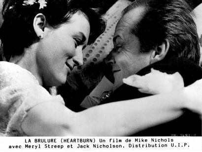 LA BRÛLURE - HARTBURN Meryl Streep et Jack Nicholson, film de Mike Nichols, 1986....