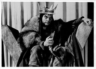 MACBETH Orson Welles, film d'après la pièce de théâtre de William Shakespeare, 1948....