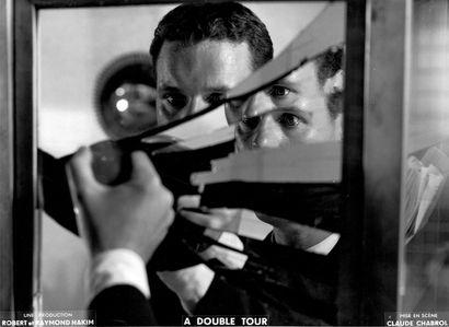 ANDRÉ JOCELYN Film «A double tour» de Claude Chabrol, 1959. Photographie de cinéma....