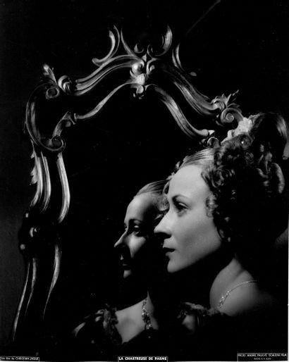 RENÉE FAURE Film «La Chartreuse de Parme» de Christian-Jaque, 1948. Photographie...