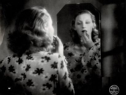 BRIGITTE HELM Film «La ville qui chante» (Die Singende Stadt) de Carmine Gallone,...
