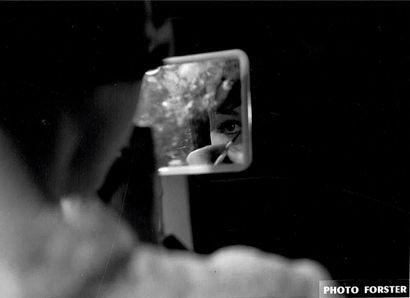 ACTRICE Photographie de cinéma par Forster, ca. 1960. Tirage argentique d'époque,...
