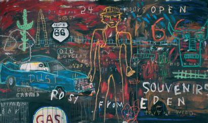 Le Maître de la Route 66 Route 66 Acrylique...