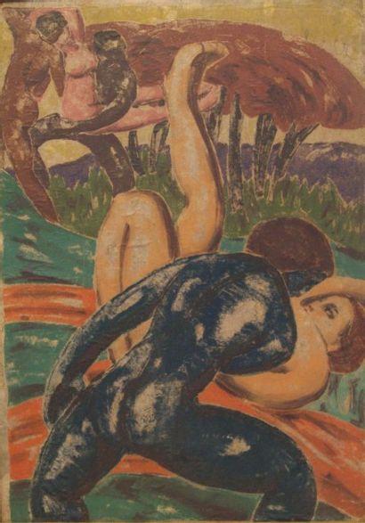 Entourage de Georges MANZANA-PISSARRO (1871-1961)