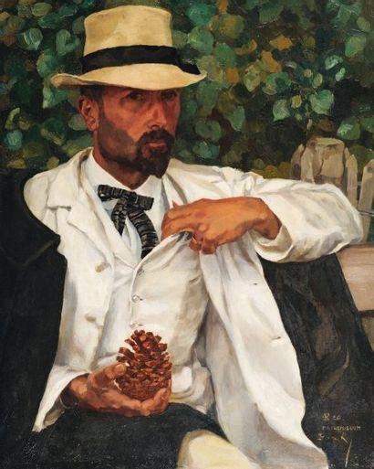 Portrait de Donatien, 1906 Huile sur toile...