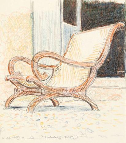 Le fauteuil au Bois Madame Mine de plomb...