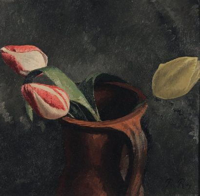 Nature morte aux tulipes, 1908 Huile sur...