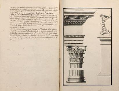 Manuscrit/ GUICHARD (Architecte-Géographe)