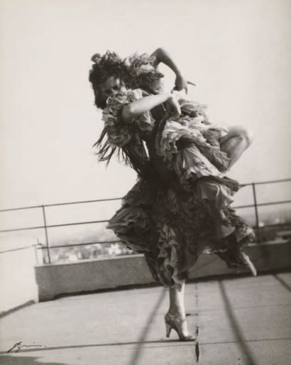 """IZIS (Israëlis Bidermanas, dit) 1911-1980 Danseuse de Flamenco, """"la Argentina"""" ca...."""