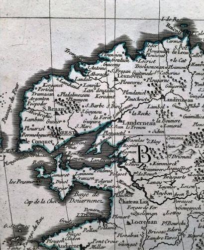 Cassini de Thury/ Atlas géographique et militaire...