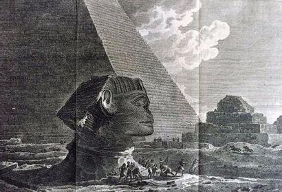 Egypte/ VOLNEY (C.-F.).- Voyages en Syrie...