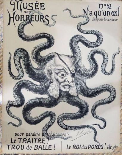 LEPNEVEU.- Le Musée des Horreurs ( Violentes...