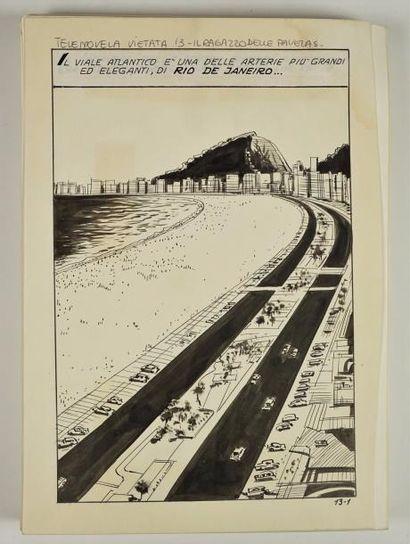 Curiosa/ Il viale Atlantico.104 planches...