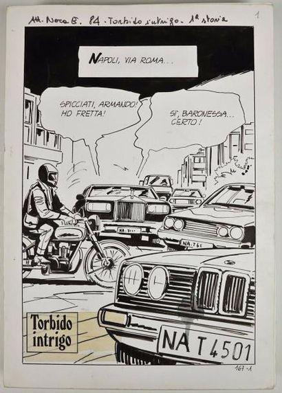 Curiosa/Napoli via Roma.90 planches de dessins...