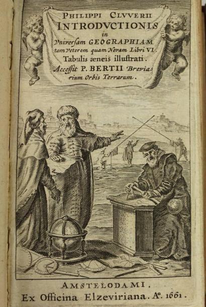 CLUWER (Philip).- Introductionis in universam...