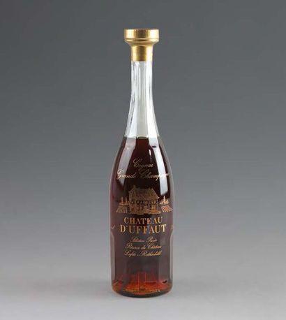 1 Flacon COGNAC «Grande Champagne» CHÂTEAU...